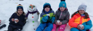 Schneemänner statt Schlittschuhe
