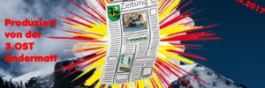 Schülerzeitung der 3. Oberstufe